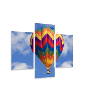 Multi-canvas 3x Air balloon