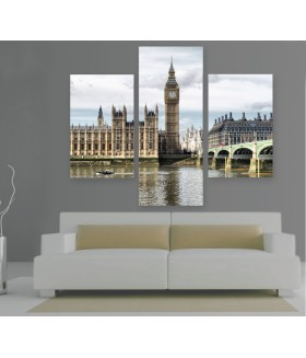 Multi-canvas 3x Houses of Parliament