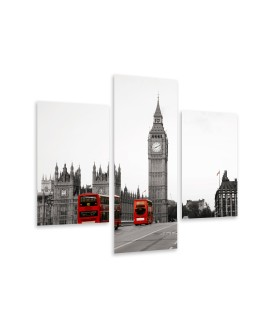 Multi-canvas 3x Palace of Westminster
