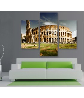 Multi-canvas 3x Rome colosseum