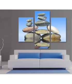Multi-canvas 3x Stone