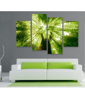 Multi-canvas 4x Forest