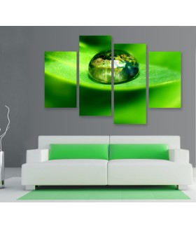 Multi-canvas 4x Green world