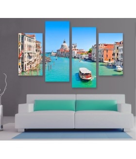 Multi-canvas 4x Venice