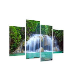 Multi-canvas 4x Waterfall