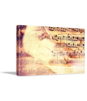 Tablou canvas Music vintage