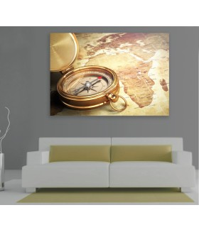 Tablou canvas Vintage compass