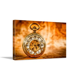Tablou canvas Vintage pocket watch